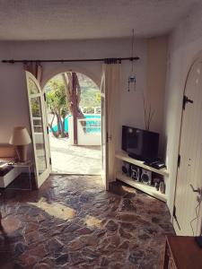 A television and/or entertainment center at Villa Palm River