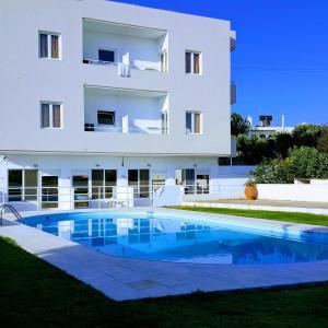 The swimming pool at or near Mastorakis Hotel and Studios