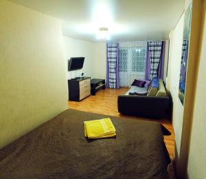 Гостиная зона в Апартаменты на Чапаева 13