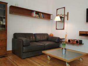 Ein Sitzbereich in der Unterkunft Neustadt - Paradies