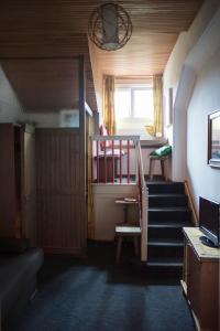 Letto o letti a castello in una camera di Apartment Carezza
