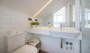 A bathroom at Dúplex con vistas panoramicas