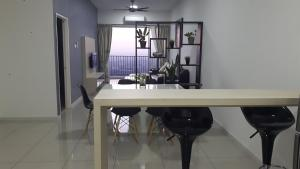 A kitchen or kitchenette at Taiping Homestay