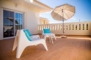 A balcony or terrace at D03 - Luxury Gold Villa