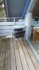 A balcony or terrace at BB dänisch/deutsch