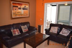 A seating area at Apartamento Molinillos