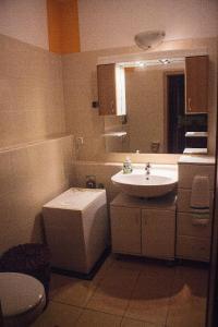 A bathroom at Peaceful Apartment