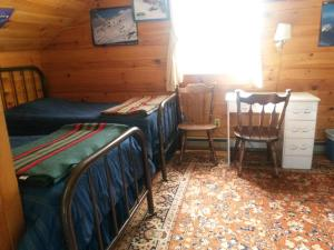 A bed or beds in a room at Forman
