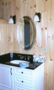 A bathroom at Wickiup