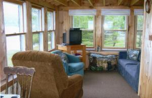 A seating area at Wickiup