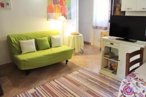 A seating area at Casa Querceto