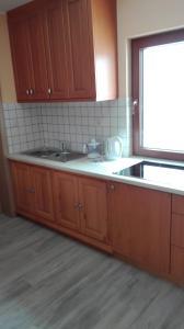 A kitchen or kitchenette at Apartmaji Bizjak