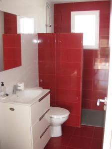 A bathroom at Bungalow Parte Alta
