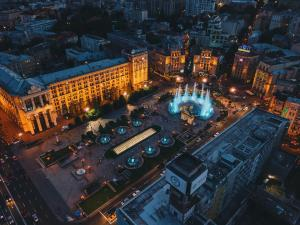 A bird's-eye view of Senator Maidan