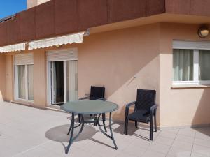 Een balkon of terras bij Realrent Jardines de Viveros