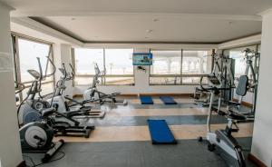 The fitness center and/or fitness facilities at Apartamento en Condominio Mar Egeo