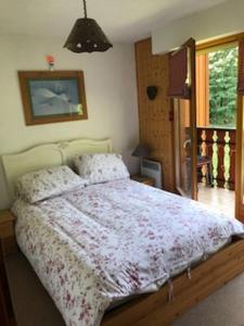 Un ou plusieurs lits dans un hébergement de l'établissement Apartment 84, La Grand Cerf, St Jean D'Aulps near Morzine