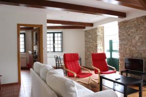 A seating area at Casa Pedrosa