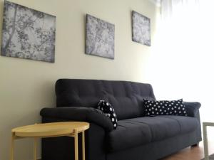 A seating area at Apartamento Gran Via Sol