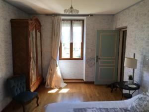 Un ou plusieurs lits dans un hébergement de l'établissement Maison Cardeillac