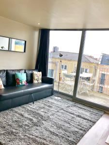Et opholdsområde på City Short Stay Brick Lane Apartments