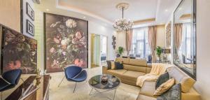 Istumisnurk majutusasutuses VIP Residence Budapest Riverside