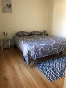 Un ou plusieurs lits dans un hébergement de l'établissement L'olivier