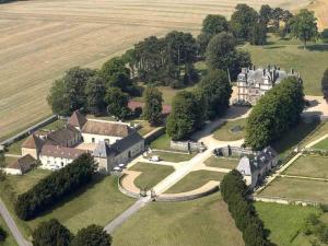 Vue panoramique sur l'établissement Château de la Trousse