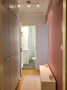 Ein Badezimmer in der Unterkunft Ullanlinna Studio
