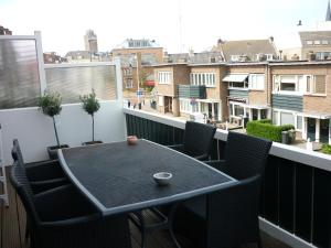 Balkon lub taras w obiekcie Appartementen aan den Hogeweg
