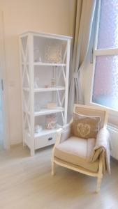 A bunk bed or bunk beds in a room at Romantic Style Apartment Berlin Mitte