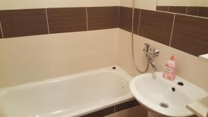 A bathroom at Centrum Apartments - I. P. Pavlova