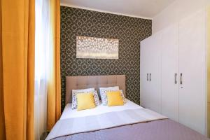 Krevet ili kreveti u jedinici u okviru objekta Walker Apartment