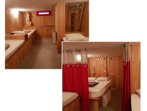 A bathroom at Appart Eterlou Chamrousse