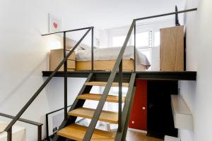 A bunk bed or bunk beds in a room at Odonell Loft