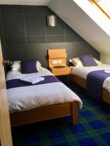 Кровать или кровати в номере Maol View Apartment