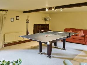 Ping-pong facilities at Higher Farm Barn or nearby
