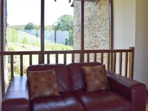 A seating area at Throstle Hall Cottage