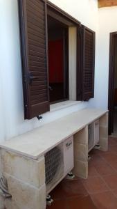 Koupelna v ubytování A Borgo Frigole