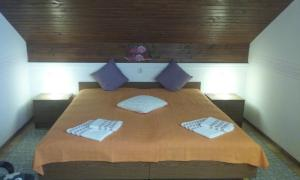A bed or beds in a room at Sound Apartma Eva