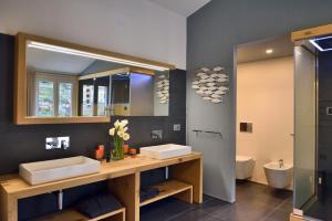 A bathroom at Terra Prime Suite