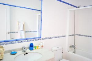 A bathroom at Siamo Valentina