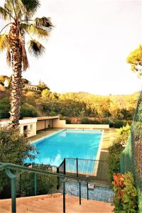 The swimming pool at or near Le Surcouf XXIV