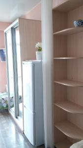 A kitchen or kitchenette at Apartment Nagorny
