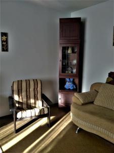 A seating area at Irina Apartment