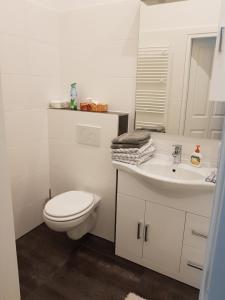 Ein Badezimmer in der Unterkunft Apartment near City Center 2nd District