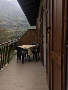 Balkón nebo terasa v ubytování Casa Valentina