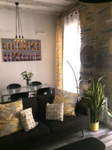 Zona de estar de Bartolo Beach Apartment