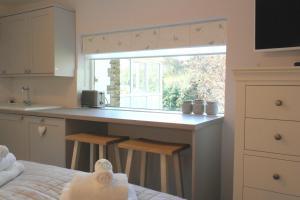 Una cocina o zona de cocina en The Snug With Hot Tub