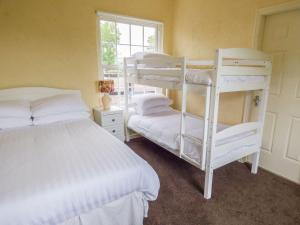 A bunk bed or bunk beds in a room at The Stable Lodge, Carrigadrohid